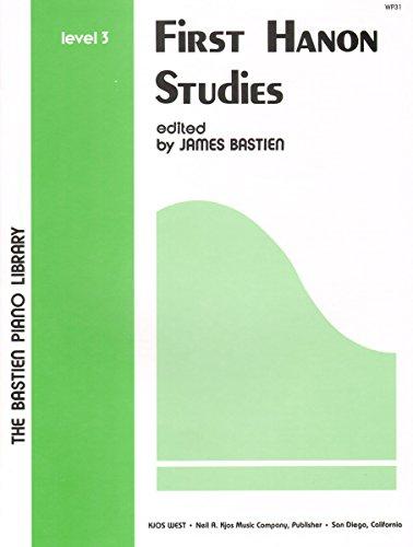 WP 31 - First Hanon Studies - Level 3