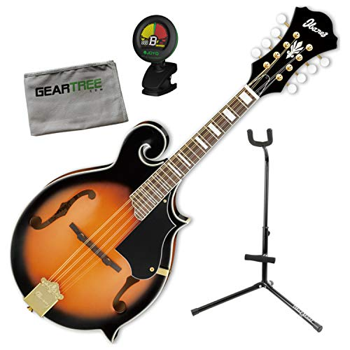 Ibanez M522SBS F-Style Acoustic Brown Sunburst Mandolin, used for sale  Delivered anywhere in USA