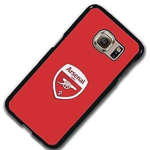 Arsenal FC Logo Samsung Galaxy S6 Edge Puls Funda Case Anti-agua Antigolpes Printed Plastic Protective Case