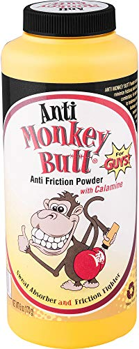 Anti- Monkey Butt Powder| Men's Anti Friction and Sweat Powder with Calamine | 6 Ounce ()