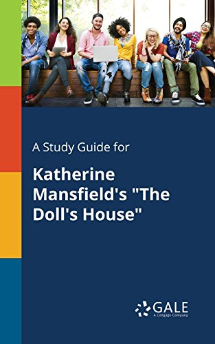 Amazon Com A Study Guide For Katherine Mansfield S The Doll S House