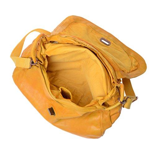 donna Taille a giallo giallo Unique DuDu spalla DuDu Borsa Borsa qaXRaw