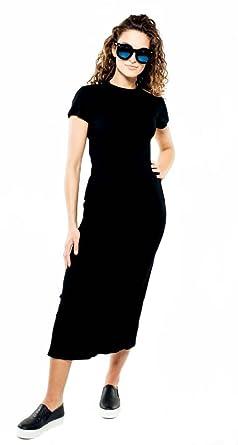 Shirt Lang T Schlichtes Größe40 Sassyclassy Kleid rBedCxoW