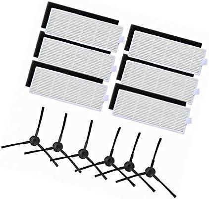 LanLan filtros Derechos para aspiradora iLife A6 A4 A4S 3 Filtro ...
