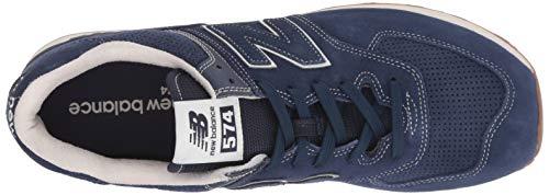 Foncé Balance New Baskets Homme Ml574v2 Bleu 0xqP6p