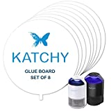 KATCHY Insect Trap Refillable Glue Boards (Set of 8): more info