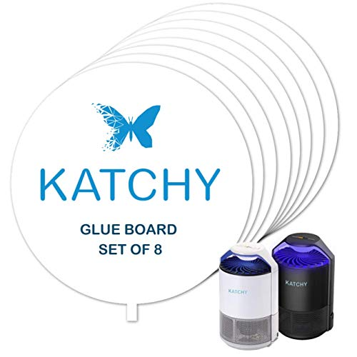 Refillable Set - KATCHY Insect Trap Refillable Glue Boards Set of 8