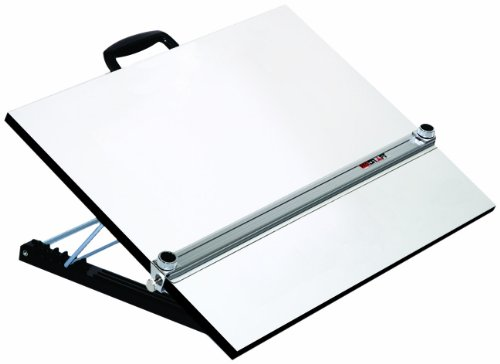 Martin Universal Design U-PEB1824K Adjustable Angle Parallel Drawing Board, Medium, Silver