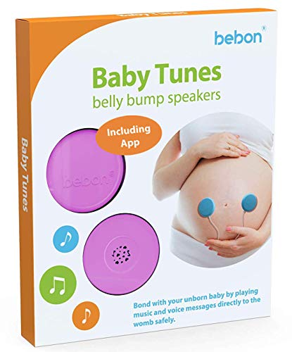 Lowest Price! Baby-Bump Headphones - Plays and Shares Music, Sound and Voices to The Womb - Premium ...