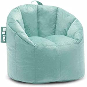 Big Joe Milano Bean Bag, Regular, Plush Mint