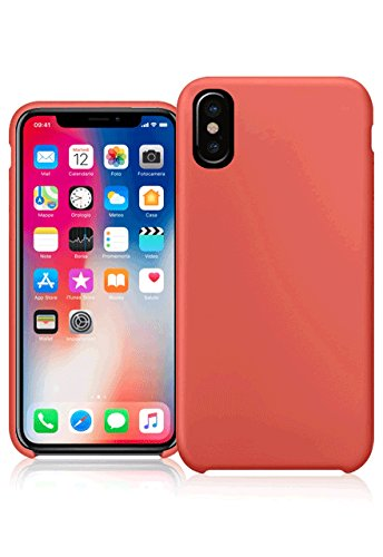 Amazon.it: cover iphone x silicone - Rosso