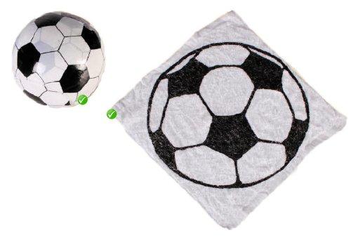 pallone da calcio motivo Asciugamano magico