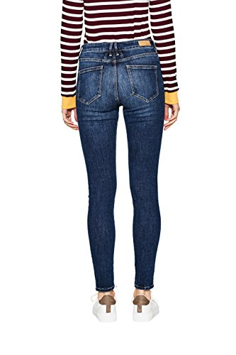 Wash By Jeans Edc Esprit Dark blue Blu 901 Donna OqT0WRvU