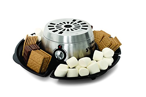 Indoor Camping Party (Salton SP1717 S'mores & Fondue Maker,)