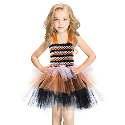 Tsyllyp Girls Tutu Dress Dance Party Birthday Princess Costumes for Halloween Christmas for $<!--$25.99-->