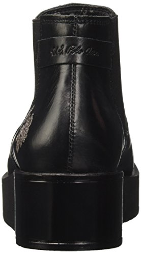S Noir Femme U Leather POLO Blk Chelsea Boots Nero Sapphire ASSN ZWdRq