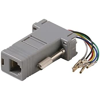 sf cable db9 female to rj12 modular adapter. Black Bedroom Furniture Sets. Home Design Ideas