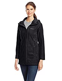 Columbia womens Benton Springs II Long Hooded Jacket
