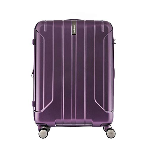 Samsonite Near Spinner 66/24 exp Ladies Medium Purple Polypropylene Luggage Bag TSA Approved AY8093002
