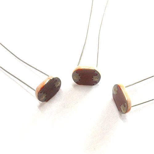 Photoresistor Photoconductive Cell Light Dependent Resistor 80-150K LDR 11mm Ceramic Pacakge(30) by Shine Gold Electronices Co., Ltd. (Image #3)