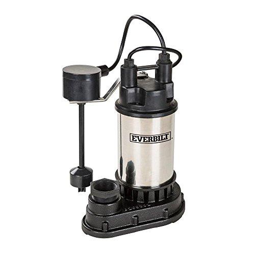 Everbilt 1/3 HP Submersible Sump Pump by Everbilt (Image #3)