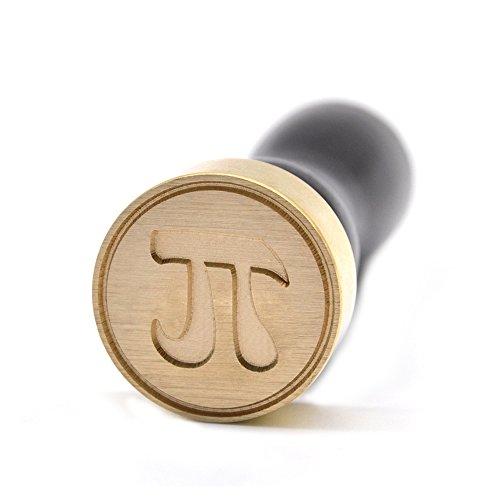 - Brass Wax Seal Stamp Mathematical Symbols Design - Christmas Gift