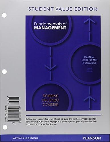 fundamentals of management 8e robbins et Download fundamentals of management by stephen robbins pdf: read online fundamentals of manage.