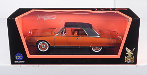 Road Signature 1963 Chrysler Turbine Bronze 1/18 Diecast Model Car