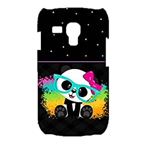 Samsung Galaxy S3 Mini Phone Case Various Forms Of Action Panda Print Cover Back Snap on Samsung Galaxy S3 Mini Good Ventilation Mobile Shell