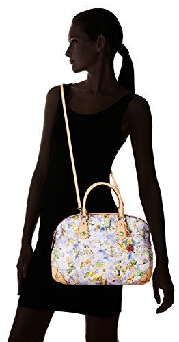 piero guidi , Sac pour femme à porter à l'épaule violet Bleu ciel 30 cm
