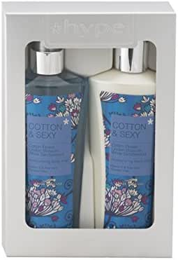 Hype Gift Set, Body Lotion And Body Mist - Cotton & Sexy