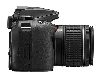 Nikon D3400 w/ AF-P DX NIKKOR 18-55mm f/3.5-5.6G VR (Black) by Nikon