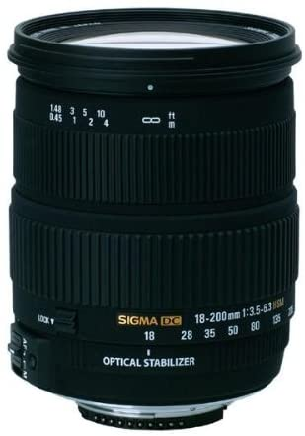 Sigma 18 200mm F3 5 6 3 Dc Hsm Os Stabilisiertes Kamera