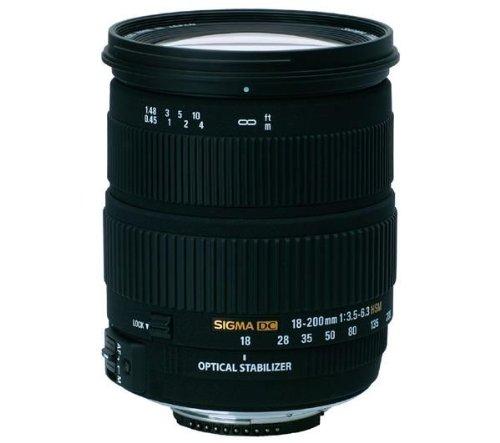 Sigma AF 18-200mm f/3.5-6.3 DC OS  Zoom Lens for Nikon Digit