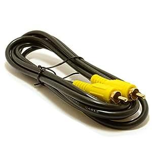 Fono Clavija Digital Coaxial SPDIF Audio o Compuesto Vídeo Cable 2 m