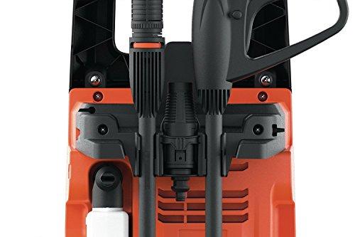 Black+Decker BXPW1400PE Idropulitrice ad Alta Pressione (1400W, 110 bar, 390 l/h) con Patio Cleaner e Spazzola Fissa, Plus 4 spesavip