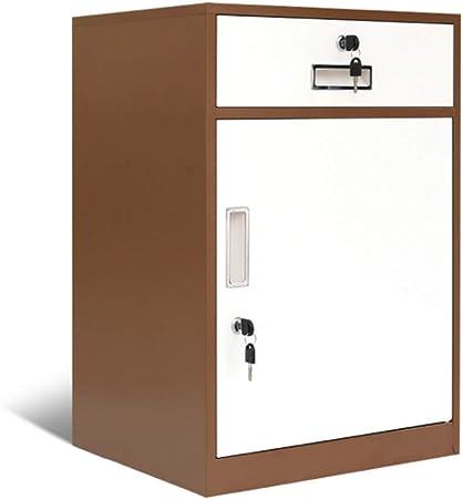 Archivadores Caja De Almacenamiento De Metal Multicolor De 2 Cajones Archivador De Acero Resistente Al Agua