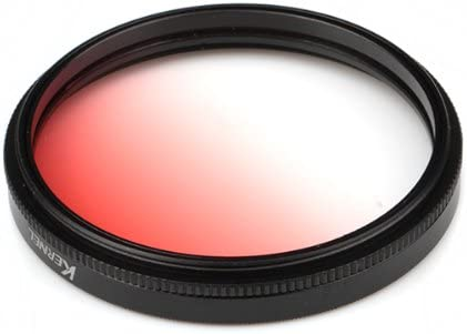 Kernel 55mm Gradual Red Lens Filter