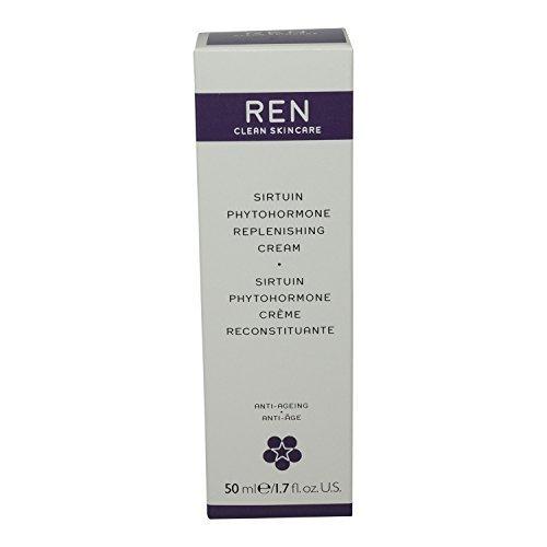 Ren Sirtuin Phytohormone Replenishing Cream, 1.7 Fluid Ounce by REN (Replenishing Sirtuin Phytohormone Ren Cream)