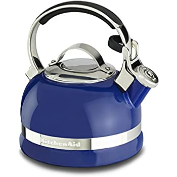 KitchenAid KTEN20SBDB 2.0 Quart Kettle With Full Stainless Steel Handle And  Trim Band   Doulton