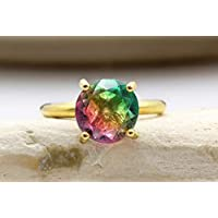 Fabulous Gold Ring by Anemone Unique - Custom-Made Tourmaline Ring for Daily Use and Special Occasions
