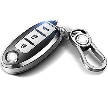 LiShihuan - Funda protectora para llave de Nissan con ...