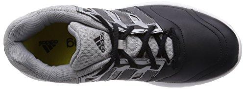 Hombre Galaxy Gris De Atletismo Adidas Zapatillas Plata Trainer Negro Para Z7wBxqvxF