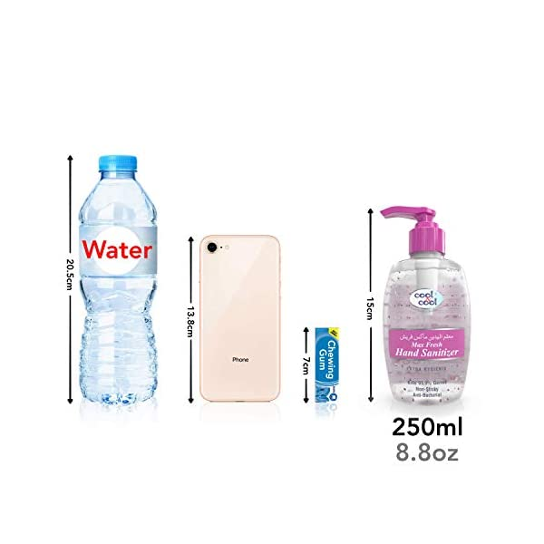 70 Alcohol Hand Sanitiser Gel Uk 2 X 250ml 500ml Of 999 Antibacterial Sanitizer With Gentle Moisturising Vitamin E Non Sticky Anti Bac Hand Gel In Pump Bottles