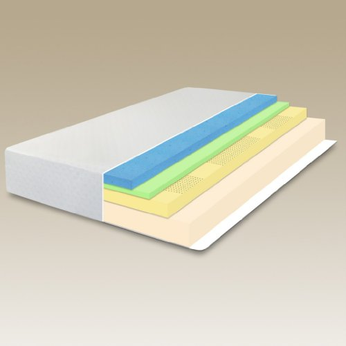 "Sleep Master - 12"" MyGel Memory Foam Mattress & Bi-Fold Box Spring Set-Queen"