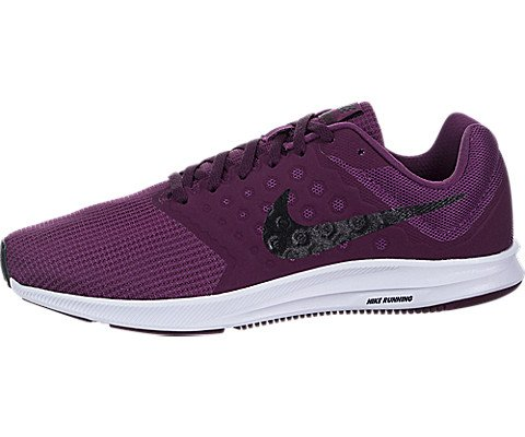 Nike Women's Downshifter 7, Tea Berry / Black-bordeaux-white, 8