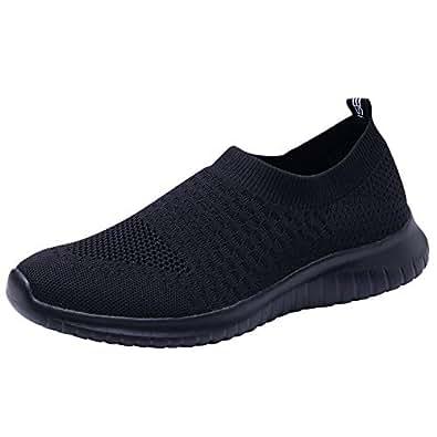 TIOSEBON Womens HK6701 Hk6701 Black Size: 5