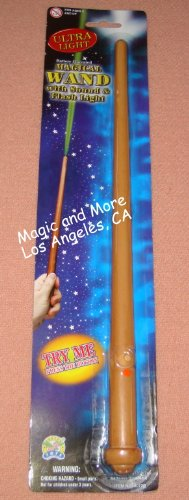Wizard Magician Costume Magic Light and Sound Toy Wand