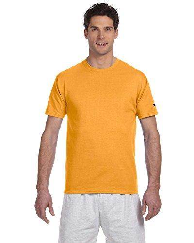 Champion T425 Tagless T-Shirt - Gold - Large