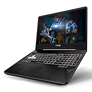 "ASUS TUF Gaming Laptop, 15.6"" 120Hz FHD IPS-Type, AMD Ryzen 7 3750H, GeForce RTX 2060, 16GB DDR4, 512GB PCIe SSD, Gigabit Wi-Fi 5, Windows 10 Home, FX505DV-ES74"